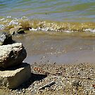 Rocks, Waves and Water by debbiedoda