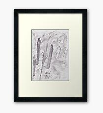 Fellowship of the trees Framed Print
