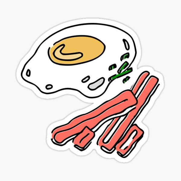 Eggs & Bacon Sticker