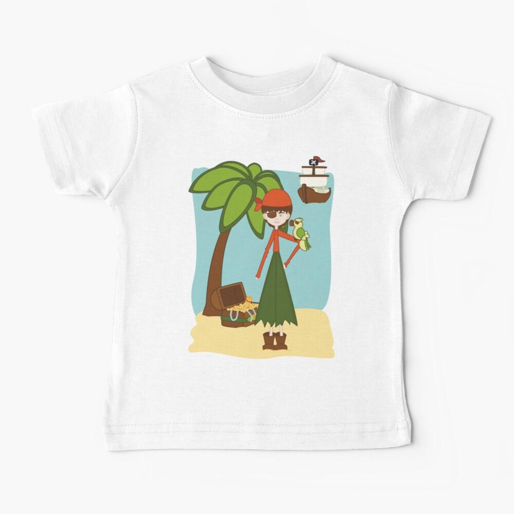La Pirata Renata Camiseta para bebés