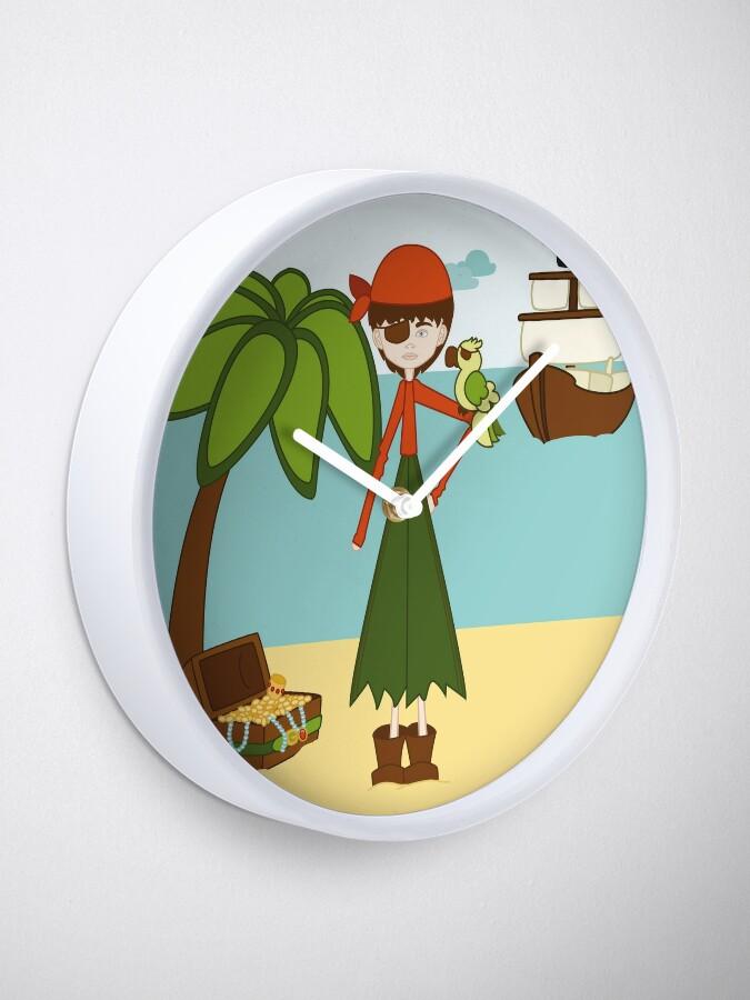 Vista alternativa de Reloj La Pirata Renata