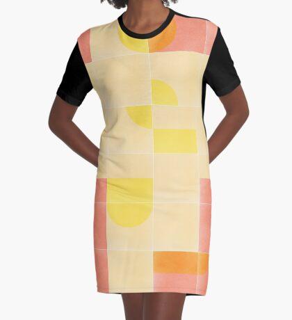 Retro Tiles 01 #redbubble #pattern Graphic T-Shirt Dress