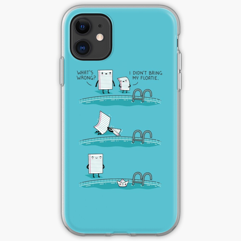 The floatie iPhone Case & Cover