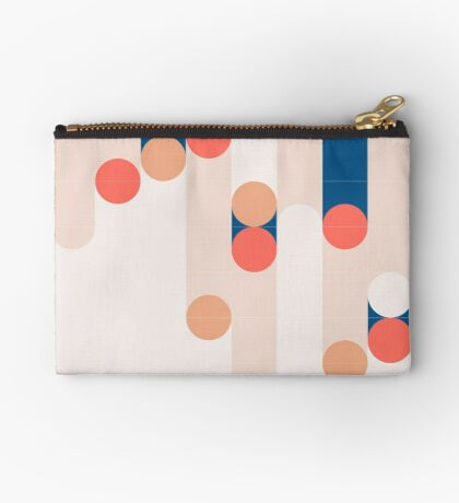 The Sound Of Tiles #redbubble #pattern Zipper Pouch