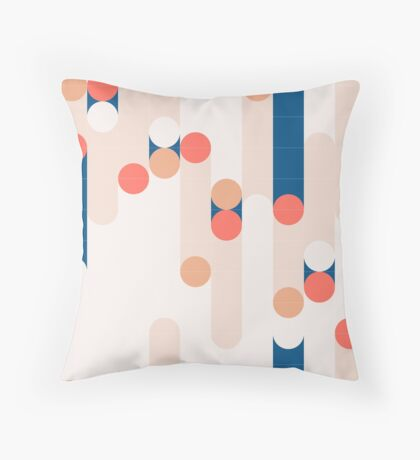 The Sound Of Tiles #redbubble #pattern Floor Pillow
