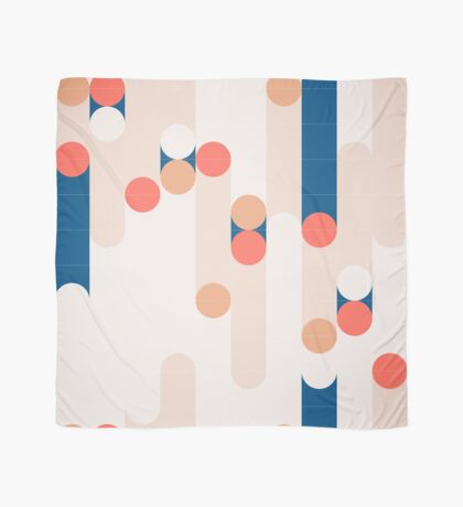 The Sound Of Tiles #redbubble #pattern Scarf