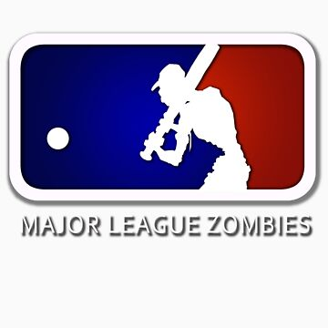 Major League Zombie (MLZ) Logo by johnmarinville