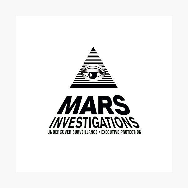 Mars Investigations Photographic Print