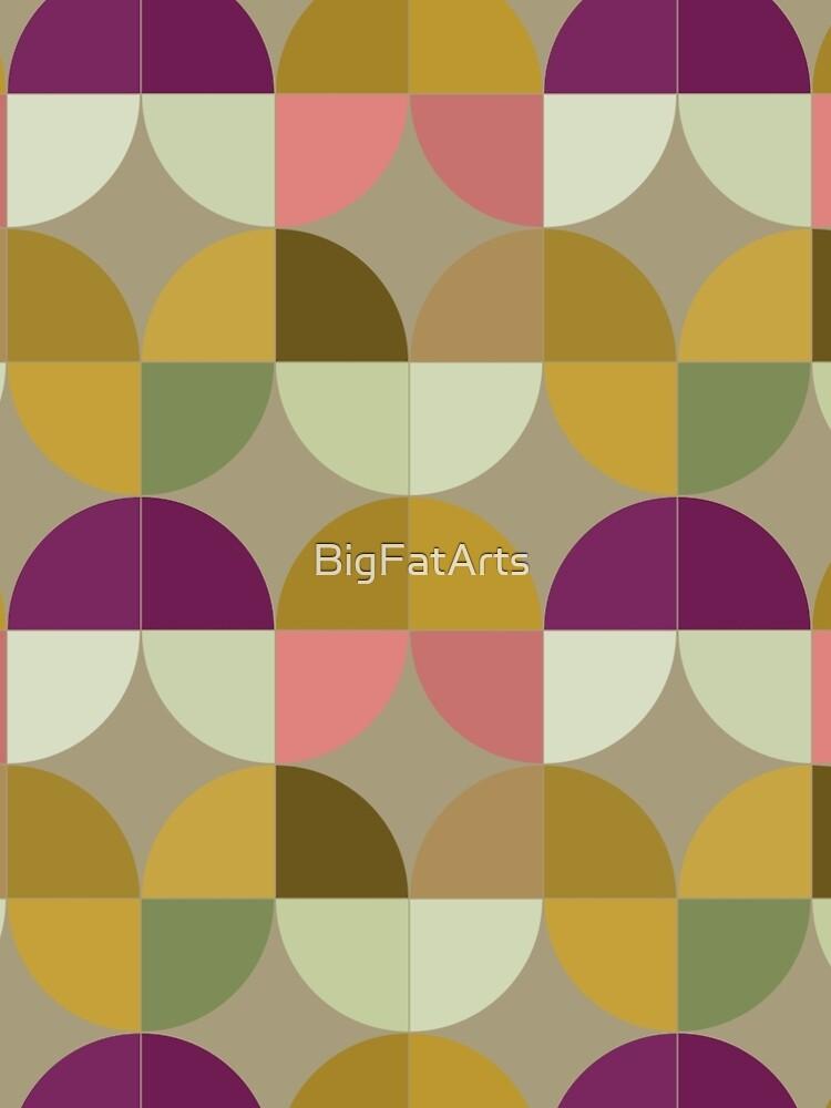 Retro Geometric New by BigFatArts
