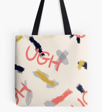 UGH Pattern #redbubble #pattern Tote Bag