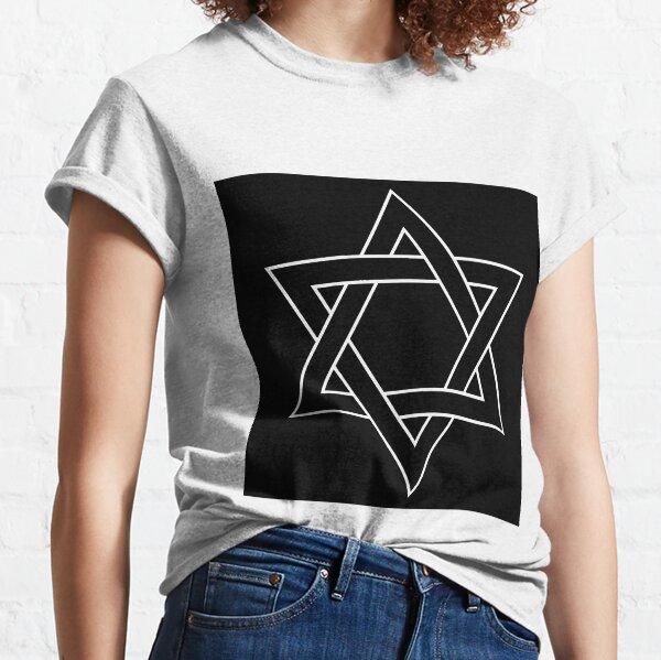 #Star of #David #Clipart #StarOfDavid Classic T-Shirt