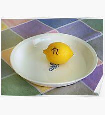 Lemon Pi Poster