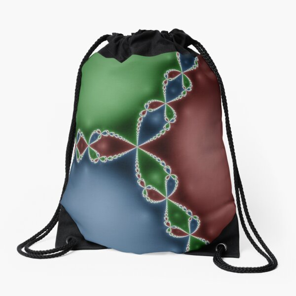 #Design, #abstract, #pattern, #illustration, psychedelic, vortex, modern, art, decoration Drawstring Bag