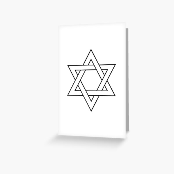 #Star of #David #Clipart #StarOfDavid, Masks Greeting Card