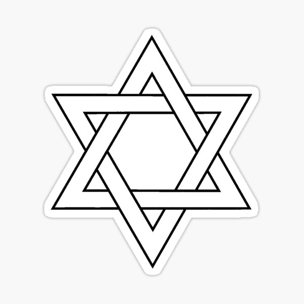 Jewish,  #Star of #David #Clipart #StarOfDavid, Masks Sticker