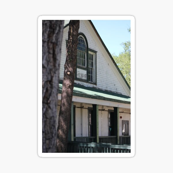 Officers Quarters at Fort Stanton New Mexico Sticker