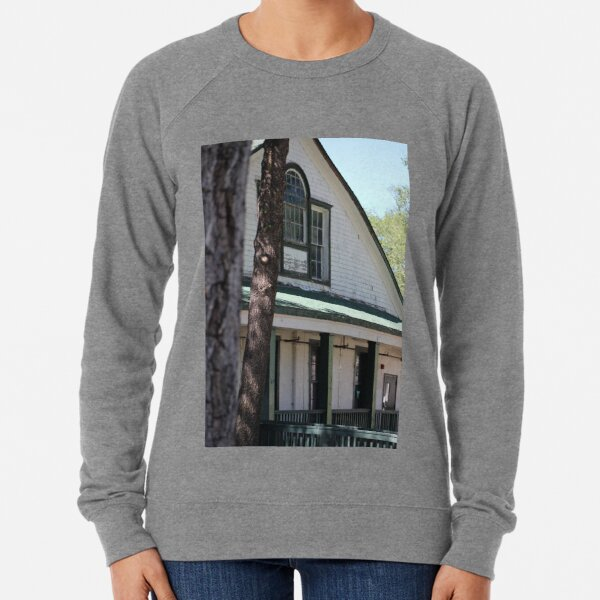 Officers Quarters at Fort Stanton New Mexico Lightweight Sweatshirt