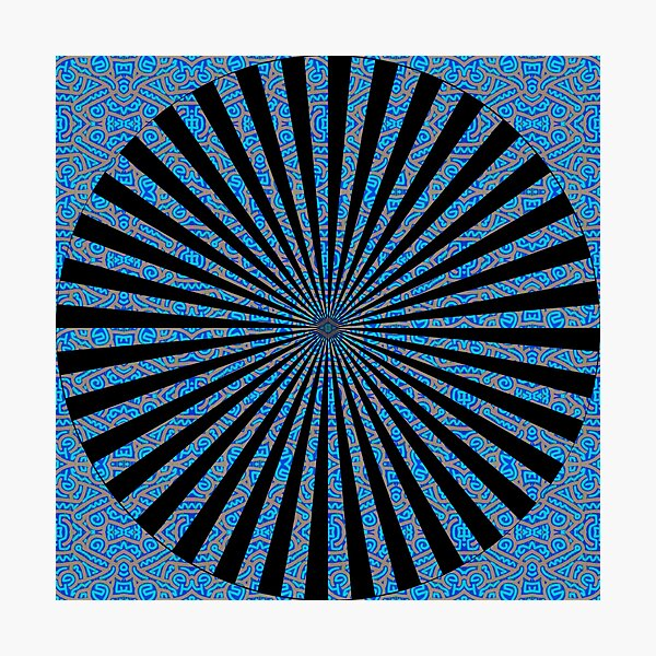 #Optical #Illusion #OpticalIllusion Photographic Print