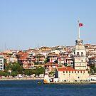 maiden tower - kız kulesi (istanbul) by yuca