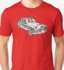 1951 Buick Eight Antique Car Illustration Unisex T-Shirt