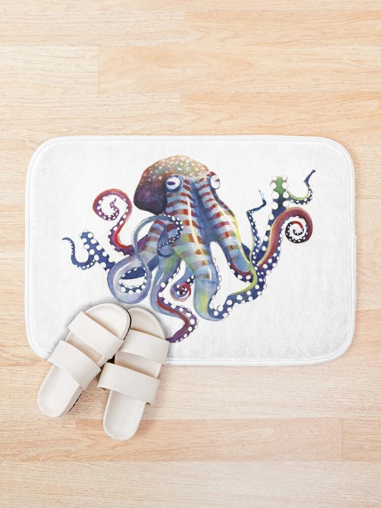 Alternate view of Octopus Bath Mat