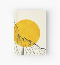 Sonnen Klippen Notizbuch