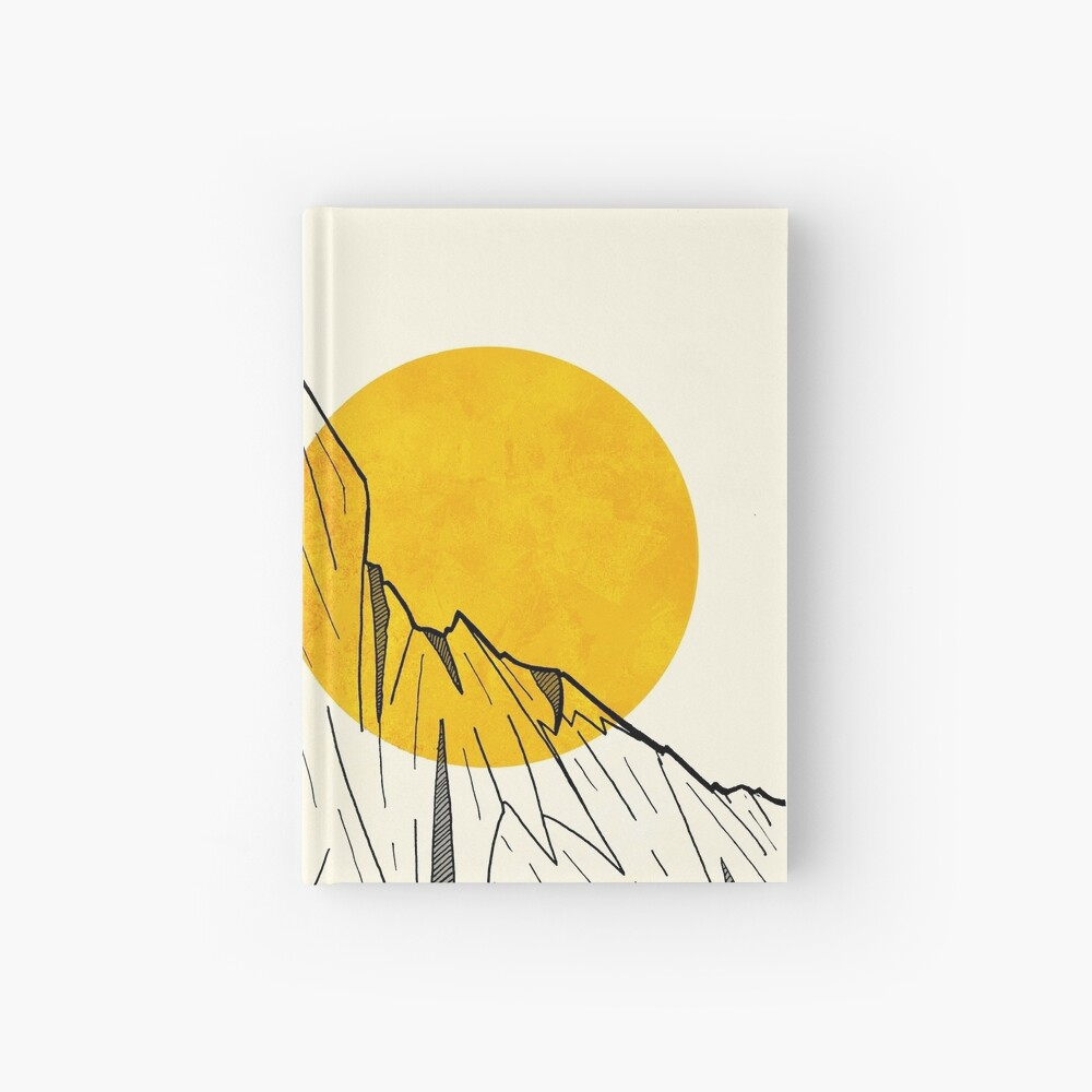 Sun Cliffs Hardcover Journal