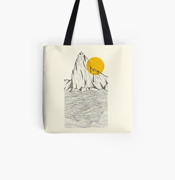 Sun Cliffs All Over Print Tote Bag