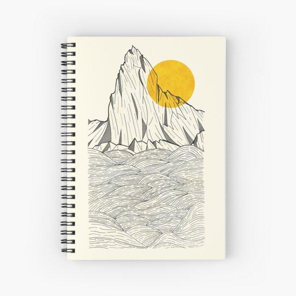 Sun Cliffs Spiral Notebook