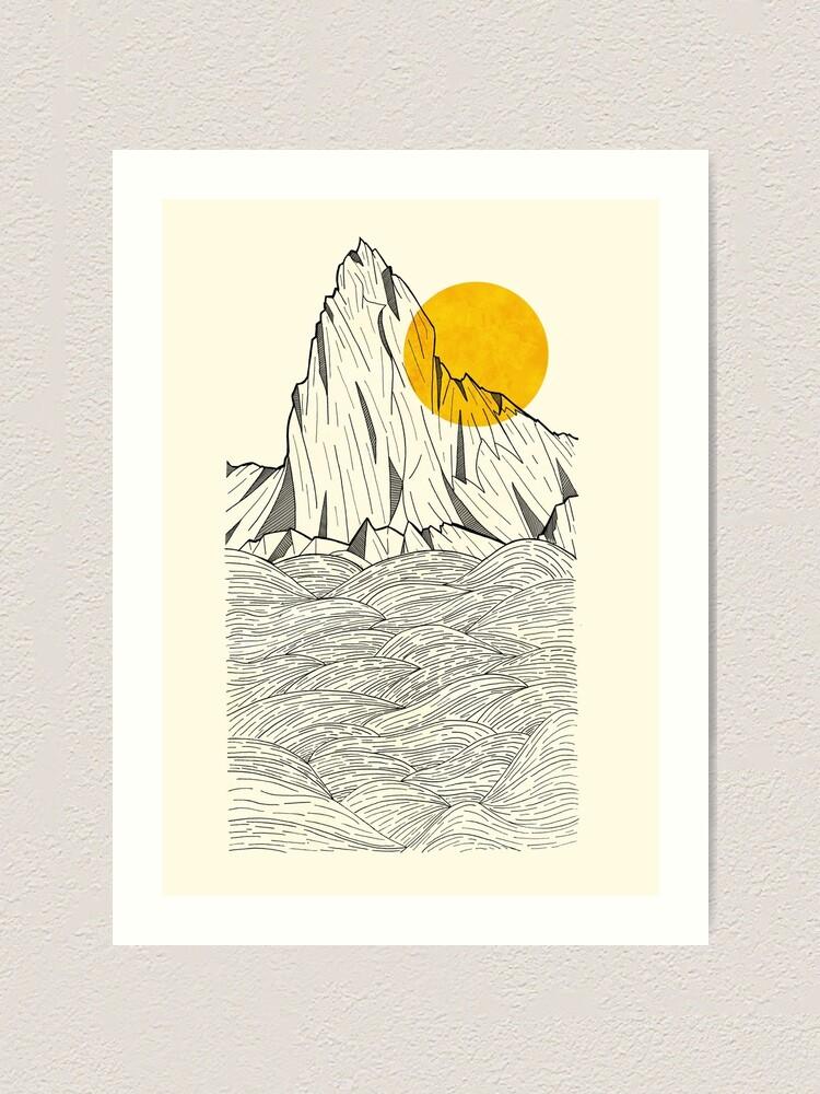 Alternate view of Sun Cliffs Art Print