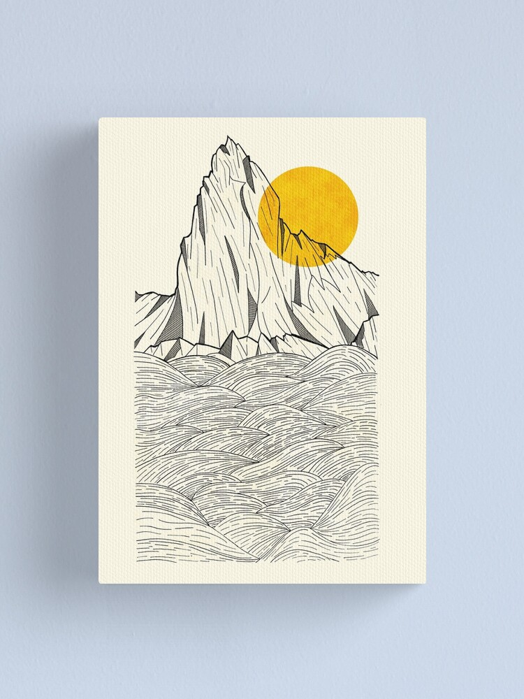 Alternate view of Sun Cliffs Canvas Print