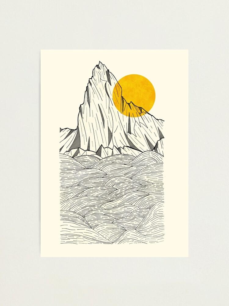 Alternate view of Sun Cliffs Photographic Print