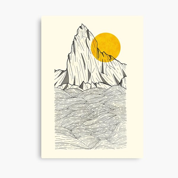 Sun Cliffs Canvas Print