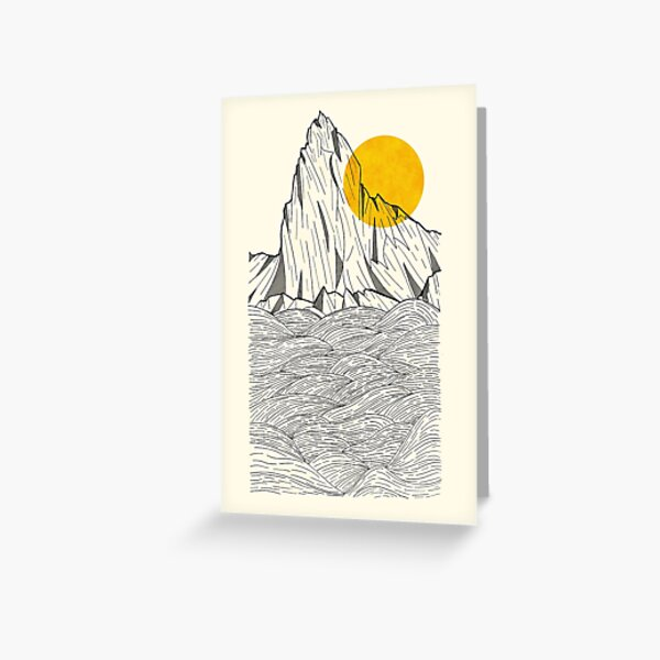 Sun Cliffs Greeting Card