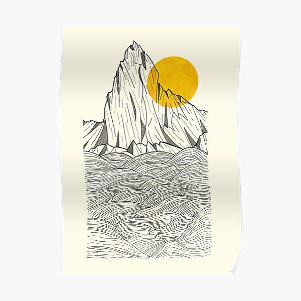 Sun Cliffs Poster