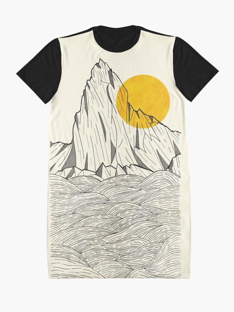 Alternate view of Sun Cliffs Graphic T-Shirt Dress