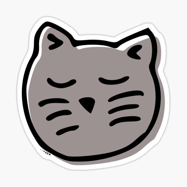 Zen Cat Sticker