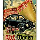 KDF-Wagen Savings Plan 1930s Advertisement by edsimoneit