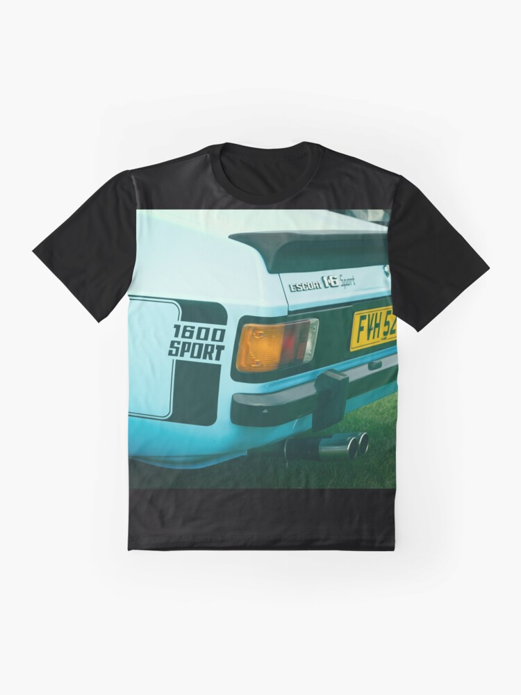 Alternate view of Ford Escort 1600 Sport Graphic T-Shirt