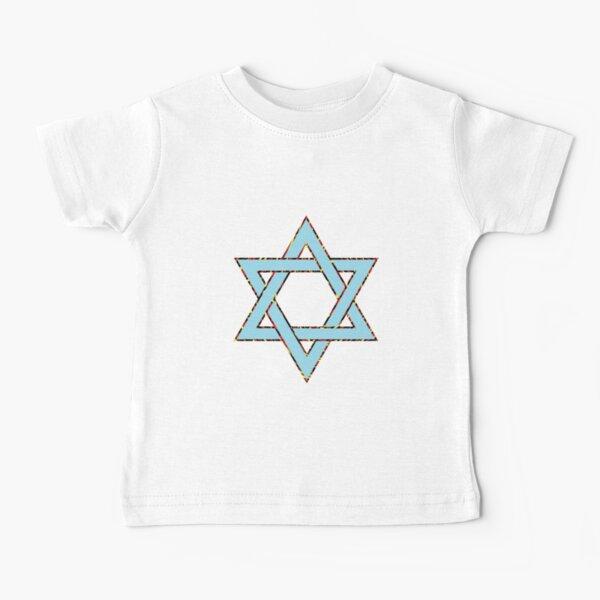 #Star of #David #Clipart #StarOfDavid Baby T-Shirt