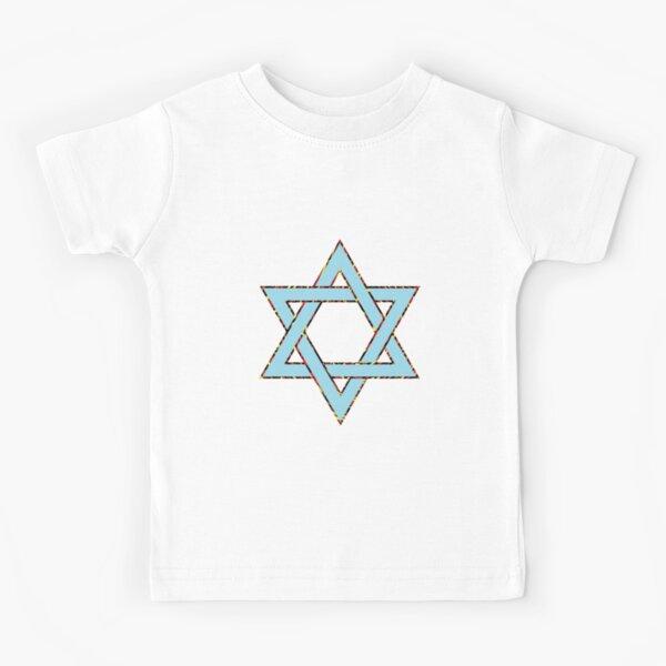 #Star of #David #Clipart #StarOfDavid Kids T-Shirt