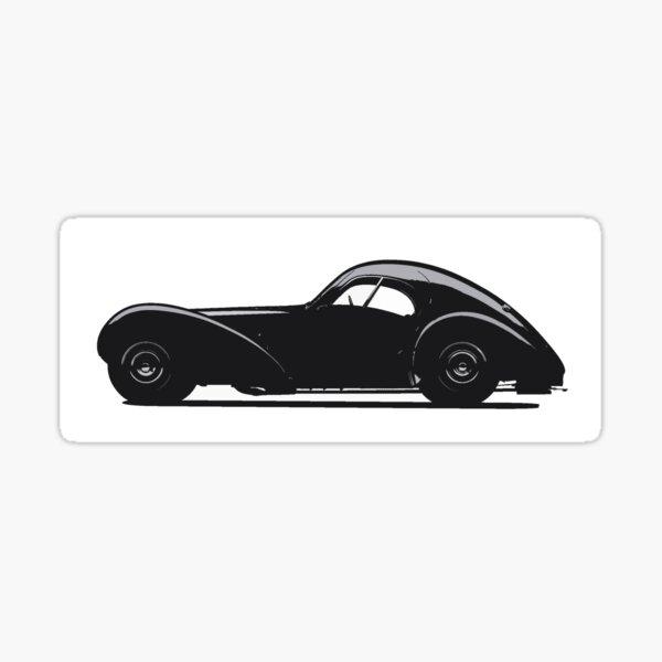 Bugatti 57SC Atlantic Glossy Sticker