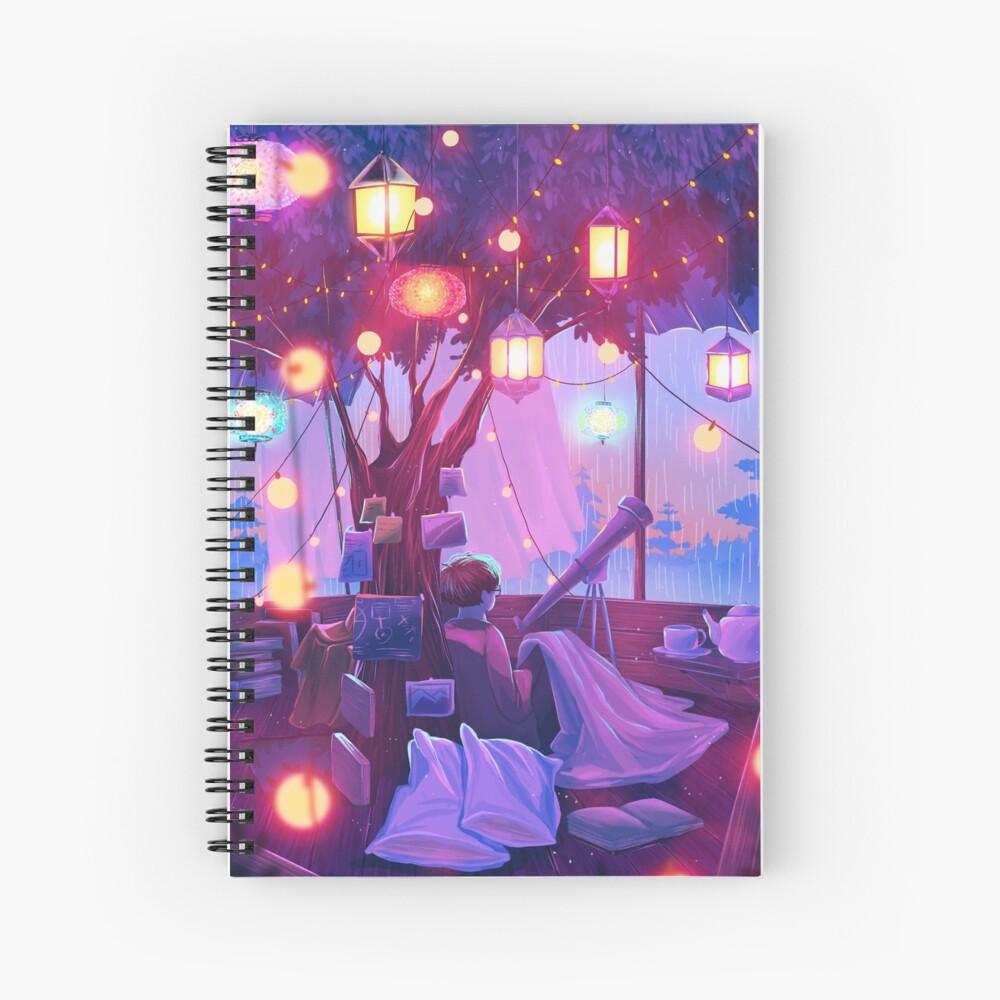 little hideout Spiral Notebook