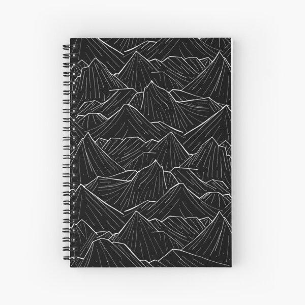 The Dark Mountains Spiral Notebook