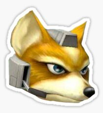 Fox McCloud Sticker