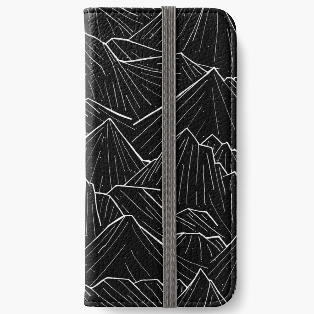 The Dark Mountains iPhone Wallet