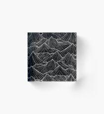 The Dark Mountains Acrylic Block