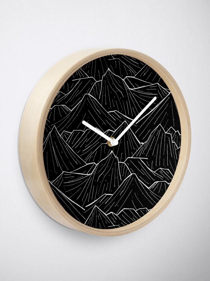 Alternate view of The Dark Mountains Clock