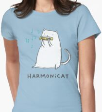 Harmonicat Womens Fitted T-Shirt