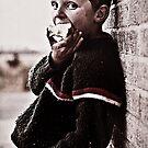 Irish boy by faceart